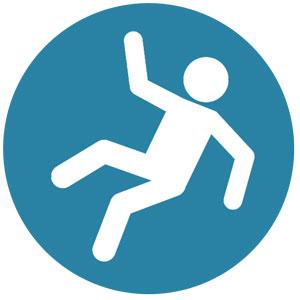 Denver Criminal Defense Attorney, Denver DUI Attorney and Denver Car Accident Attorney slip icon for web - New Slip and Fall
